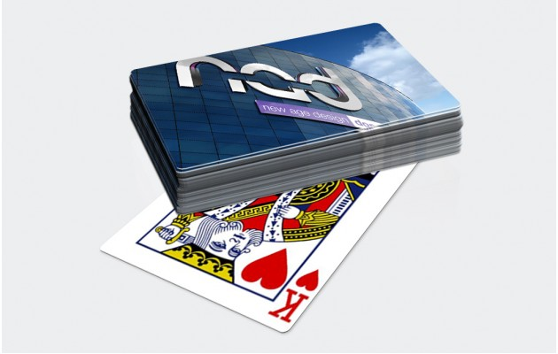 Playing cards personalised