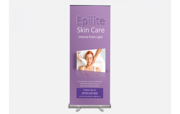Roller Banner Stands (Pull up)
